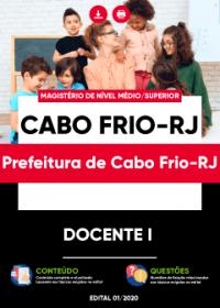 Docente I (Educação Infantil e Anos Iniciais) - Prefeitura de Cabo Frio-RJ