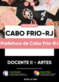 Docente II - Artes - Prefeitura de Cabo Frio-RJ