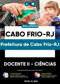 Docente II - Ciências - Prefeitura de Cabo Frio-RJ