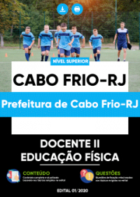 Docente II - Educação Física - Prefeitura de Cabo Frio-RJ
