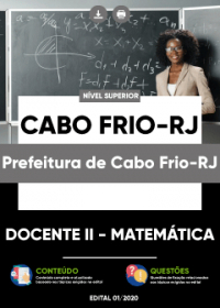 Docente II - Matemática - Prefeitura de Cabo Frio-RJ