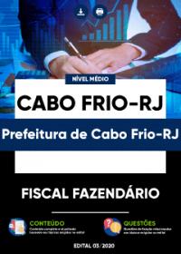 Fiscal Fazendário - Prefeitura de Cabo Frio-RJ