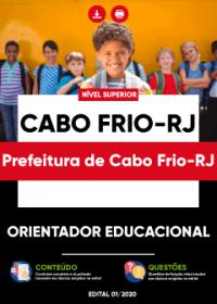Orientador Educacional - Prefeitura de Cabo Frio-RJ