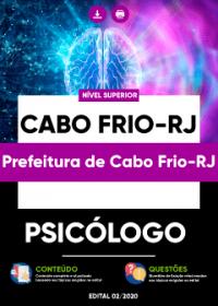 Psicólogo - Prefeitura de Cabo Frio-RJ