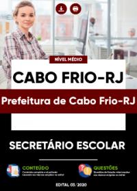 Secretário Escolar - Prefeitura de Cabo Frio-RJ
