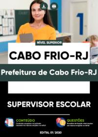Supervisor Escolar - Prefeitura de Cabo Frio-RJ
