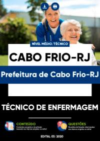Técnico de Enfermagem - Prefeitura de Cabo Frio-RJ