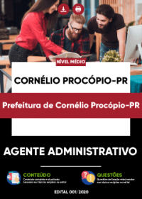 Agente Administrativo - Prefeitura de Cornélio Procópio-PR