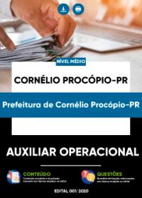 Auxiliar Operacional - Prefeitura de Cornélio Procópio-PR