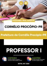 Professor I - Prefeitura de Cornélio Procópio-PR