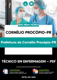 Técnico em Enfermagem - PSF - Prefeitura de Cornélio Procópio-PR