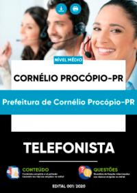 Telefonista - Prefeitura de Cornélio Procópio-PR