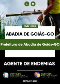 Agente de Endemias - Prefeitura de Abadia de Goiás-GO