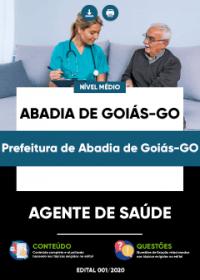 Agente de Saúde - Prefeitura de Abadia de Goiás-GO