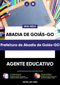 Agente Educativo - Prefeitura de Abadia de Goiás-GO