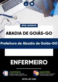 Enfermeiro - Prefeitura de Abadia de Goiás-GO