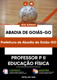 Professor P II - Educação Física - Prefeitura de Abadia de Goiás-GO