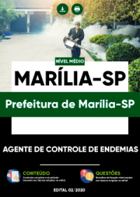 Agente de Controle de Endemias - Prefeitura de Marília-SP