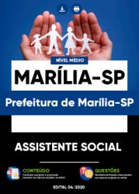 Assistente Social - Prefeitura de Marília-SP