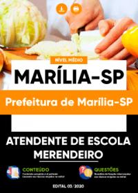 Atendente de Escola - Prefeitura de Marília-SP