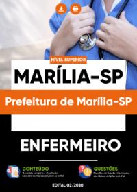 Enfermeiro - Prefeitura de Marília-SP