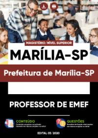 Professor de EMEF - Prefeitura de Marília-SP