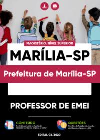 Professor de EMEI - Prefeitura de Marília-SP
