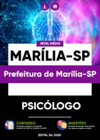 Psicólogo - Prefeitura de Marília-SP