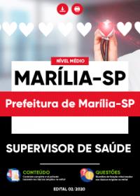 Supervisor de Saúde - Prefeitura de Marília-SP