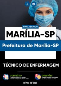 Técnico de Enfermagem - Prefeitura de Marília-SP
