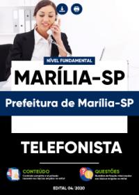 Telefonista - Prefeitura de Marília-SP