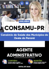 Agente Administrativo - CONSAMU-PR