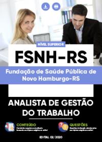 Analista de Gestão do Trabalho - FSNH-RS