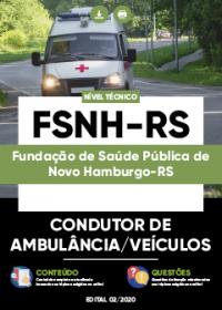Condutor de Ambulância-Veículos - FSNH-RS
