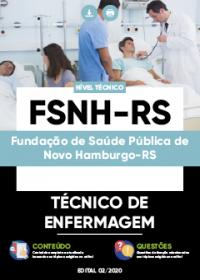 Técnico de Enfermagem - FSNH-RS