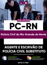 Agente e Escrivão de Polícia Civil Substituto - PC-RN