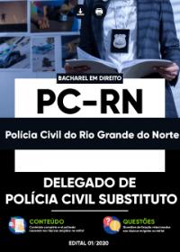 Delegado de Polícia Civil Substituto - PC-RN