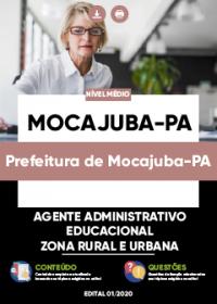 Agente Administrativo Educacional - Prefeitura de Mocajuba-PA