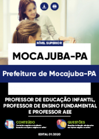 Professor de Educação Infantil e outros - Prefeitura de Mocajuba-PA