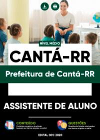 Assistente de Aluno - Prefeitura de Cantá-RR