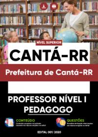 Professor Nível I - Pedagogo - Prefeitura de Cantá-RR