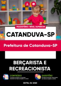 Berçarista e Recreacionista - Prefeitura de Catanduva-SP