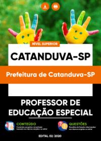 Professor de Educação Especial - Prefeitura de Catanduva-SP
