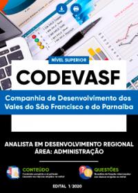 Analista em Desenvolvimento Regional - Área: Administração - CODEVASF