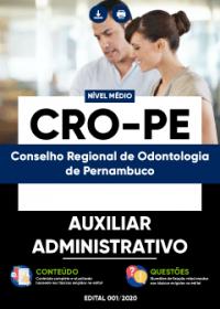 Auxiliar Administrativo - CRO-PE