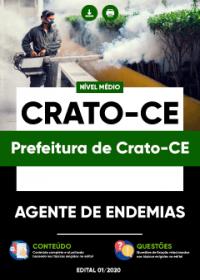 Agente de Endemias - Prefeitura de Crato-CE
