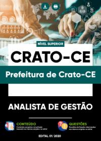 Analista de Gestão - Prefeitura de Crato-CE