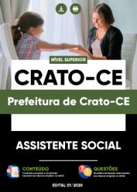 Assistente Social - Prefeitura de Crato-CE