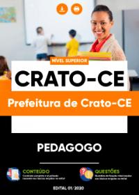 Pedagogo - Prefeitura de Crato-CE