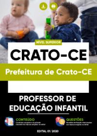 Professor de Educação Infantil - Prefeitura de Crato-CE